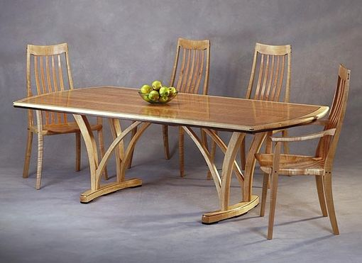 Custom Made Crescent Dining Set