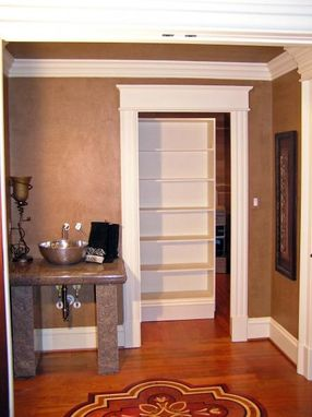 Custom Made Concealed Closet/Hidden Storage