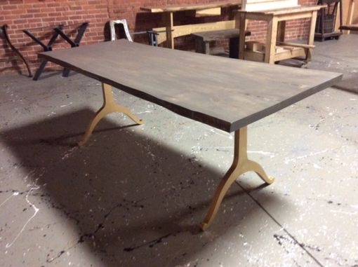 Custom Made Maple Top With Gray Stean