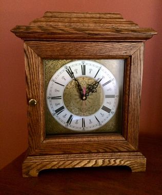 Custom Made Bracket Clock