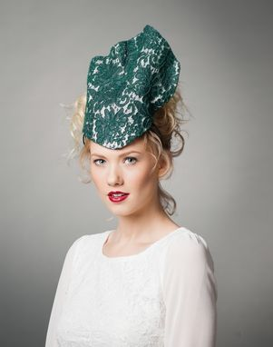 Custom Made Hunter Green Lace Crown