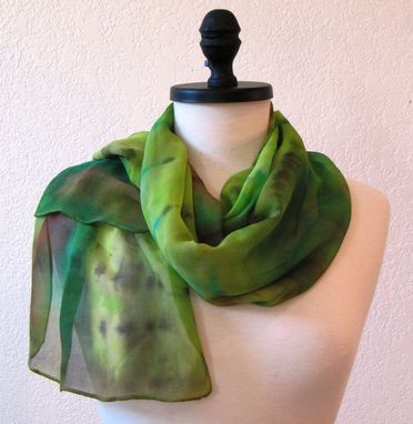 Custom Made Hand Painted Scarves