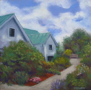 Custom Made Art, Painting (Garden House)