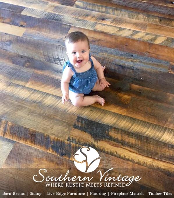 Handmade Reclaimed Wood Flooring Barn
