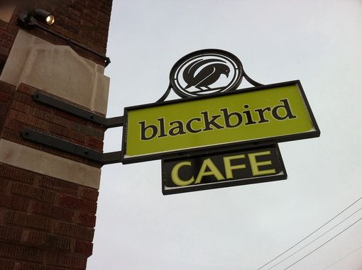 Custom Made Blackbird Sign