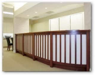 Custom Made Dental Office Counters And Cabinets In North Carolina