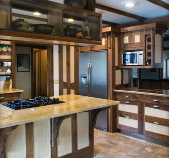 Custom Made Craft Style Kitchen Cabinets