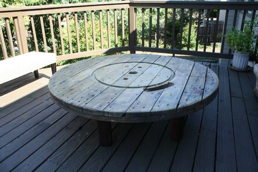 Custom Made Spool Table