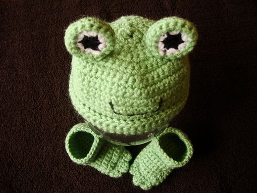 Custom Made Original Frog Hat With Webbed Booties
