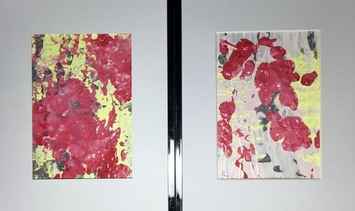 Custom Made Abstract Blossoms On Panels (3) - Choose Your Colors