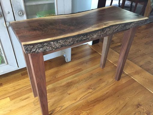 Custom Made Live Edge Sofa Or Console Table