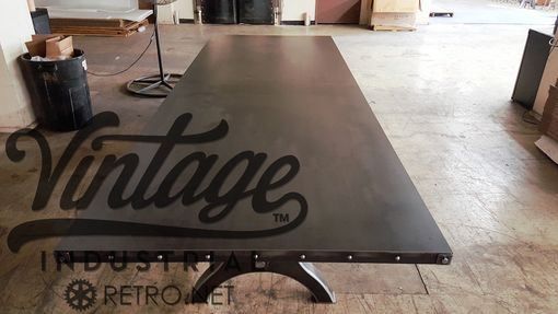 Custom Made Hure Crank Conference Table