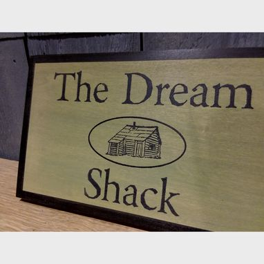 Custom Made Custom Cabin Sign