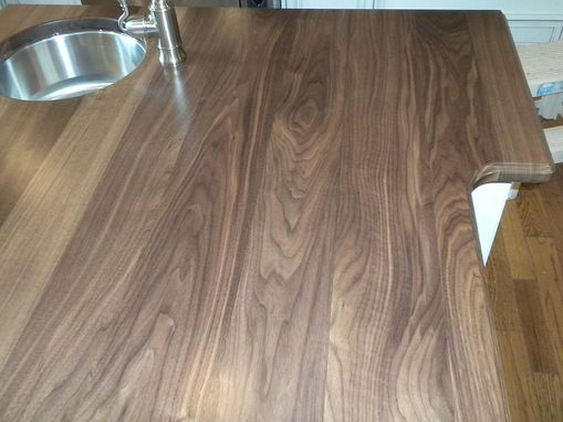 Custom Made Walnut Countertop