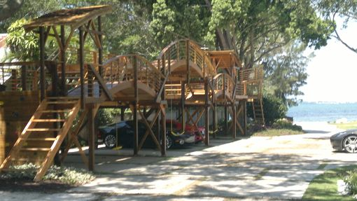 Custom Made Playground With  Option Of Car Space