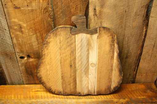 Custom Made Rustic Fall Decor - Reclaimed Barnwood Pumpkins