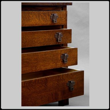 Custom Made 4 Drawer  Mackintosh Chest.
