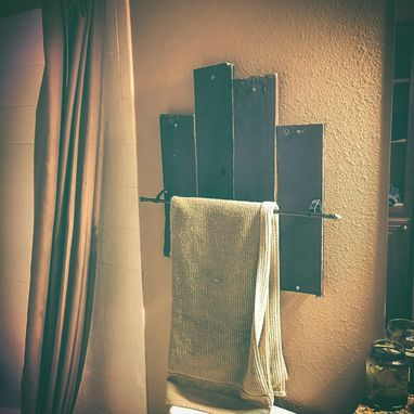 Custom Made Handmade Towel Racks