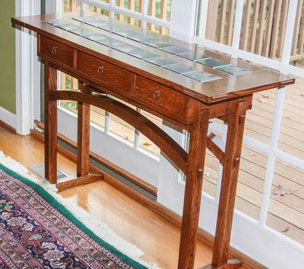 Custom Made Arts And Crafts Entry Table