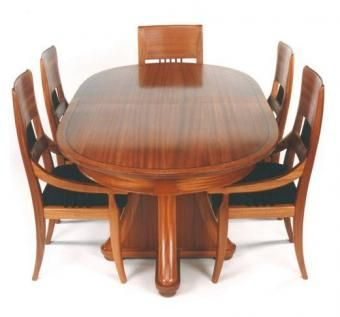 Custom Made Dining Table And Chair Set