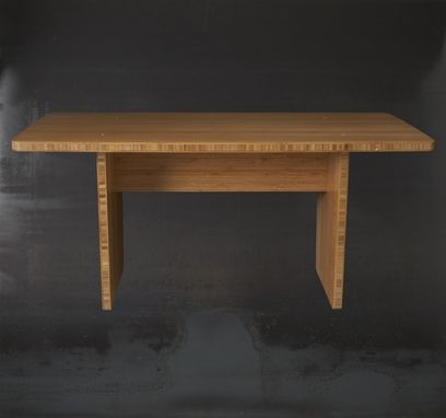 Custom Made Bamboo Flat-Pack Coffee Table / Bench