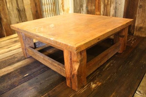 Custom Made Rustic Reclaimed Barnwood Coffee Table