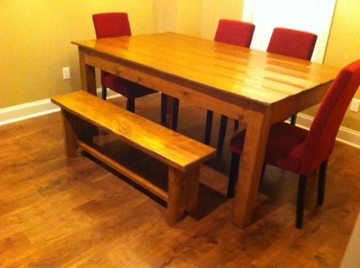 Custom Made Farmhouse Tables  Pickup Only