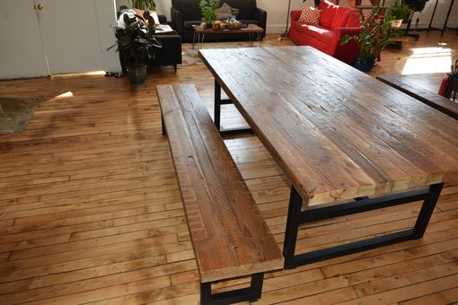 Custom Made Appalachian Artisan Table