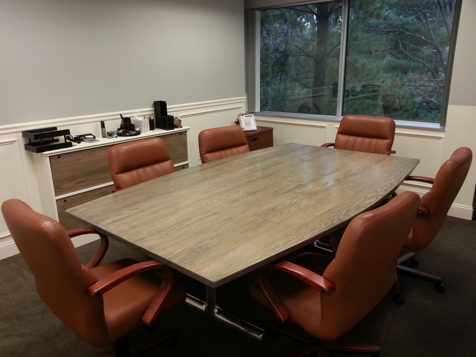 Custom Conference Table By AJC Woodworking CustomMadecom - Inexpensive conference table