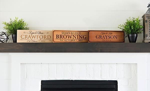 Personalized House Signs 5x15