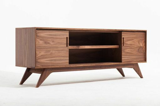 "Custom Made 80"" Storage Credenza - Mid Century Modern Inspired"