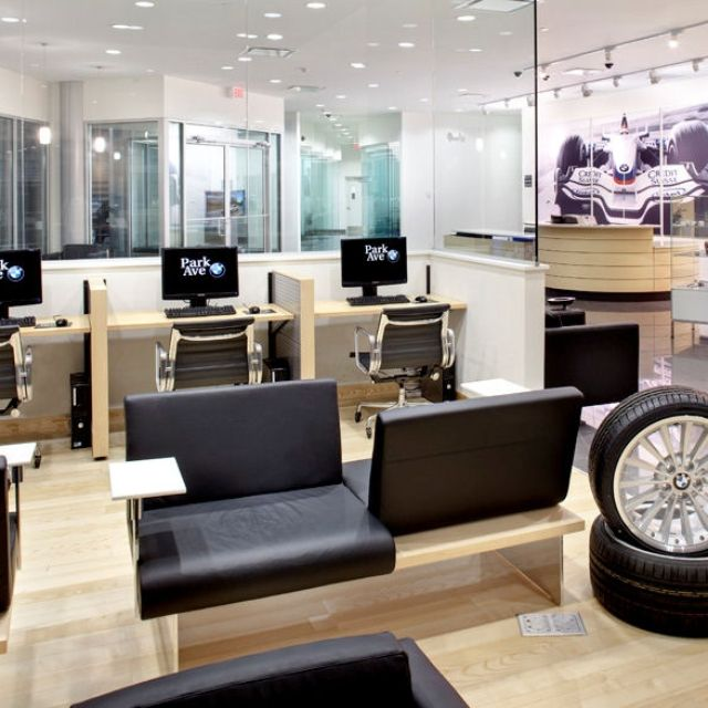 Auto Dealer Showroom By