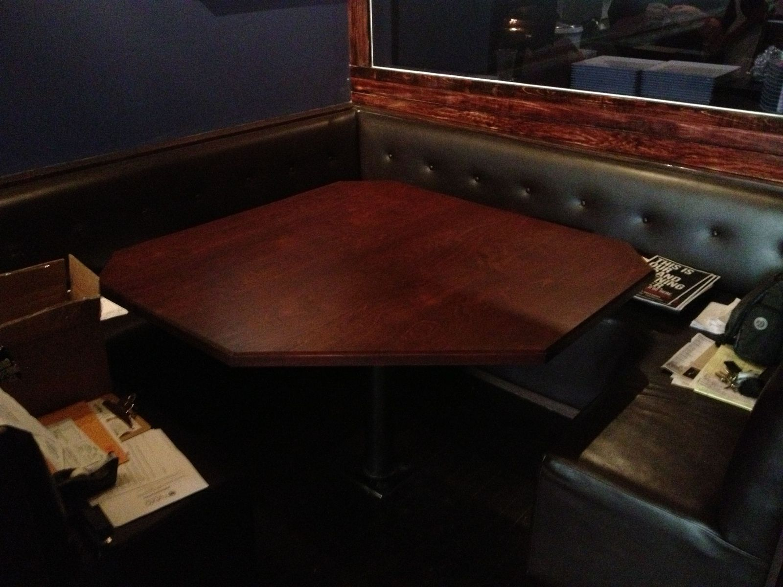 Hand Crafted Restaurant Table Tops By MAD Woodwork CustomMadecom - Custom restaurant table tops