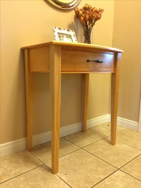 Custom Made Front Curved Night Stand