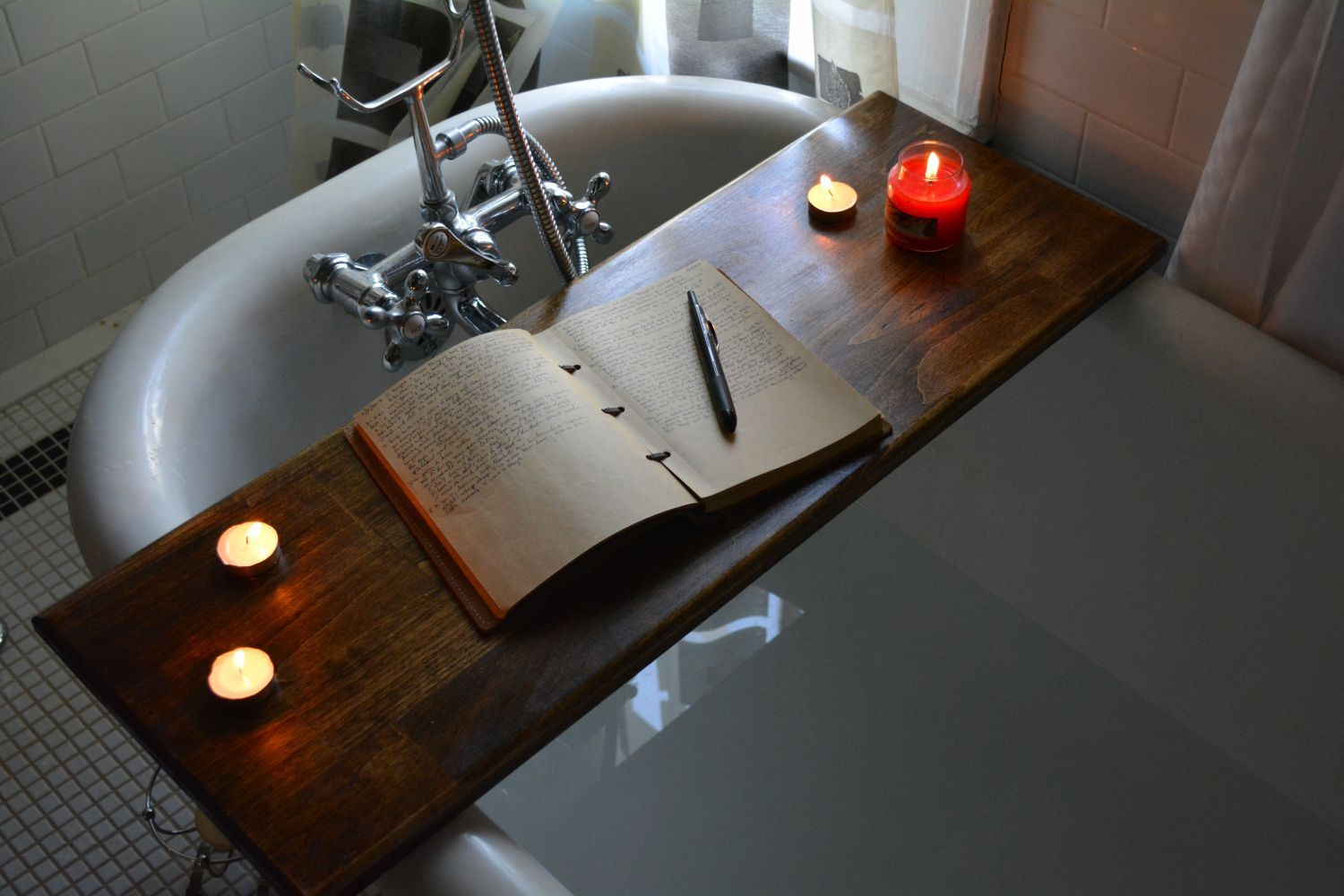 Buy a Custom Tahoe Bath Caddy, made to order from Reclaimer | craft ...