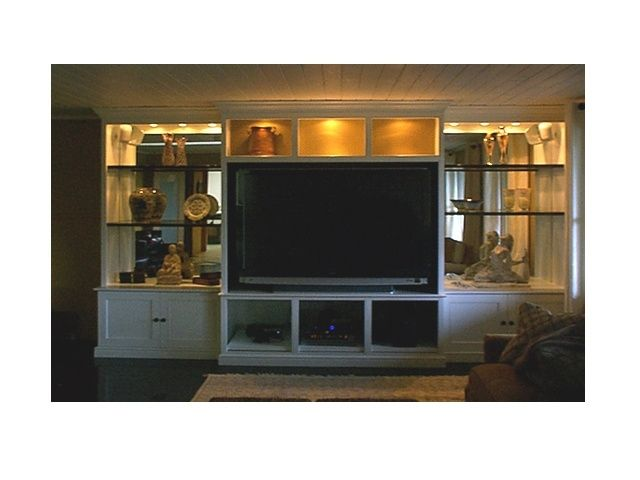Hand Made Large Screen Tv Cabinet by Frederick Furniture