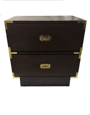 Custom Made Classic Campaign Night Stands
