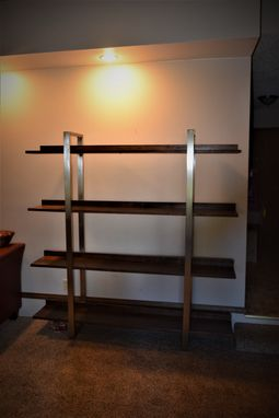 Custom Made Modern Shelving Unit