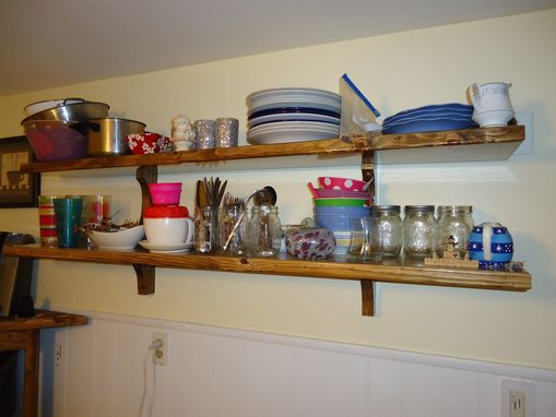 Custom Made Kitchen Shelves