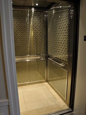 Custom Made Regency Court Apartment Building Elevator Design