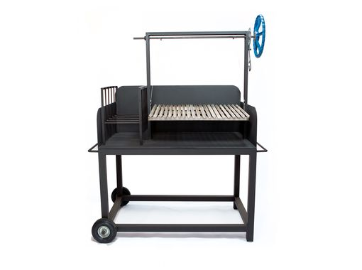 Custom Made Argentine Asado Grill And Barbeque
