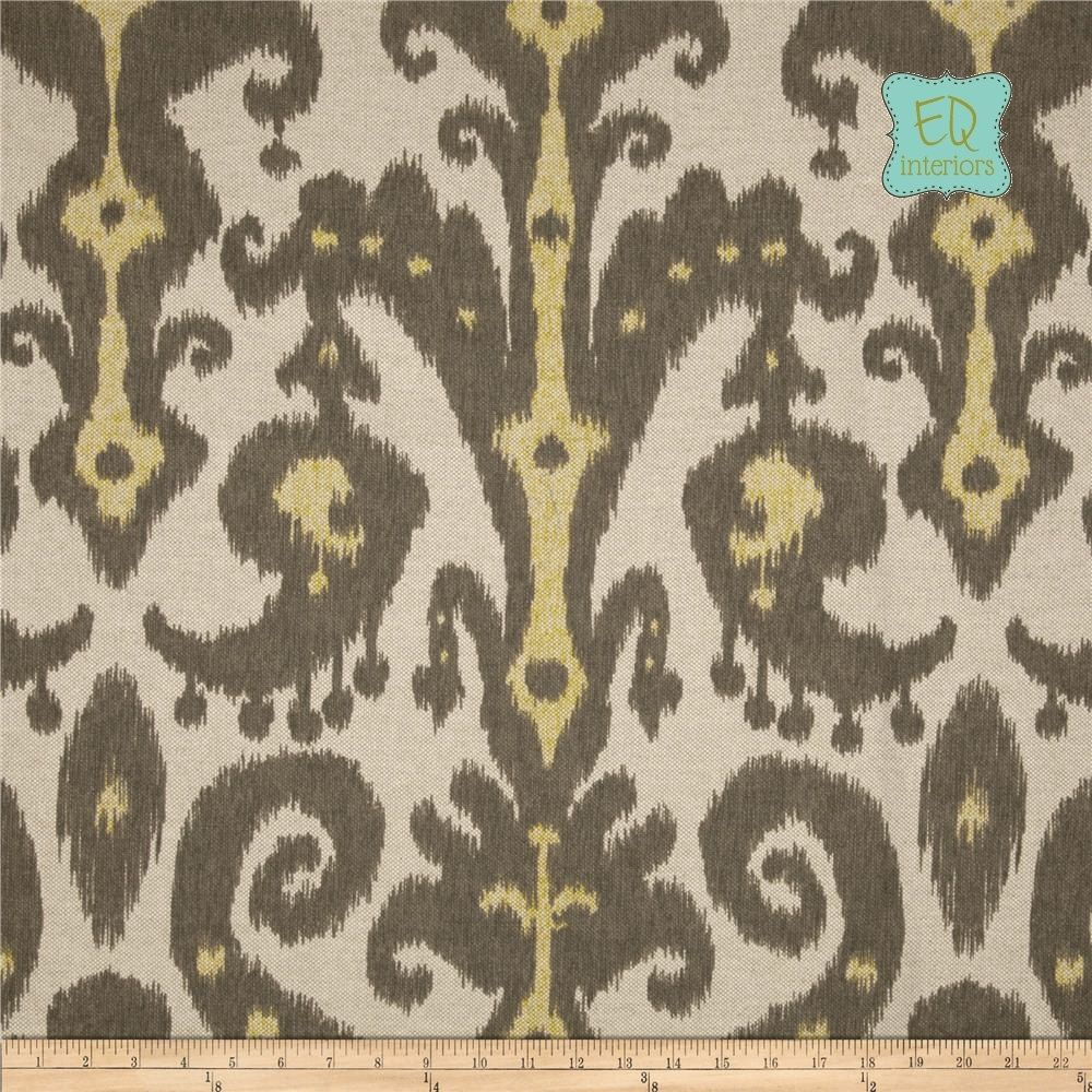 Designer curtain panels - Custom Made Custom Designer Curtain Panels Lacefield Marrakesh Ikat Batik Graphite Gray 72 L X 50
