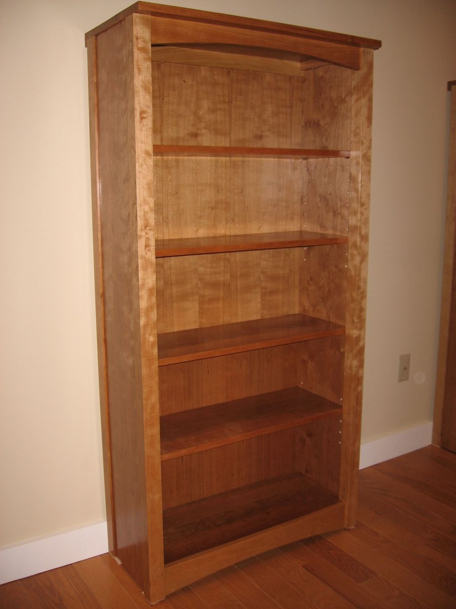 Hand Crafted Arts And Crafts Cherry Bookcase By Batterman