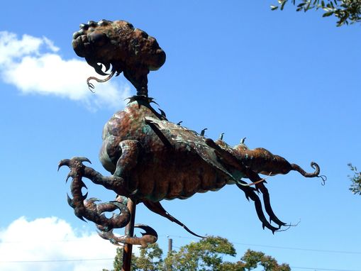 Custom Made Copper Weathervane Sculpture