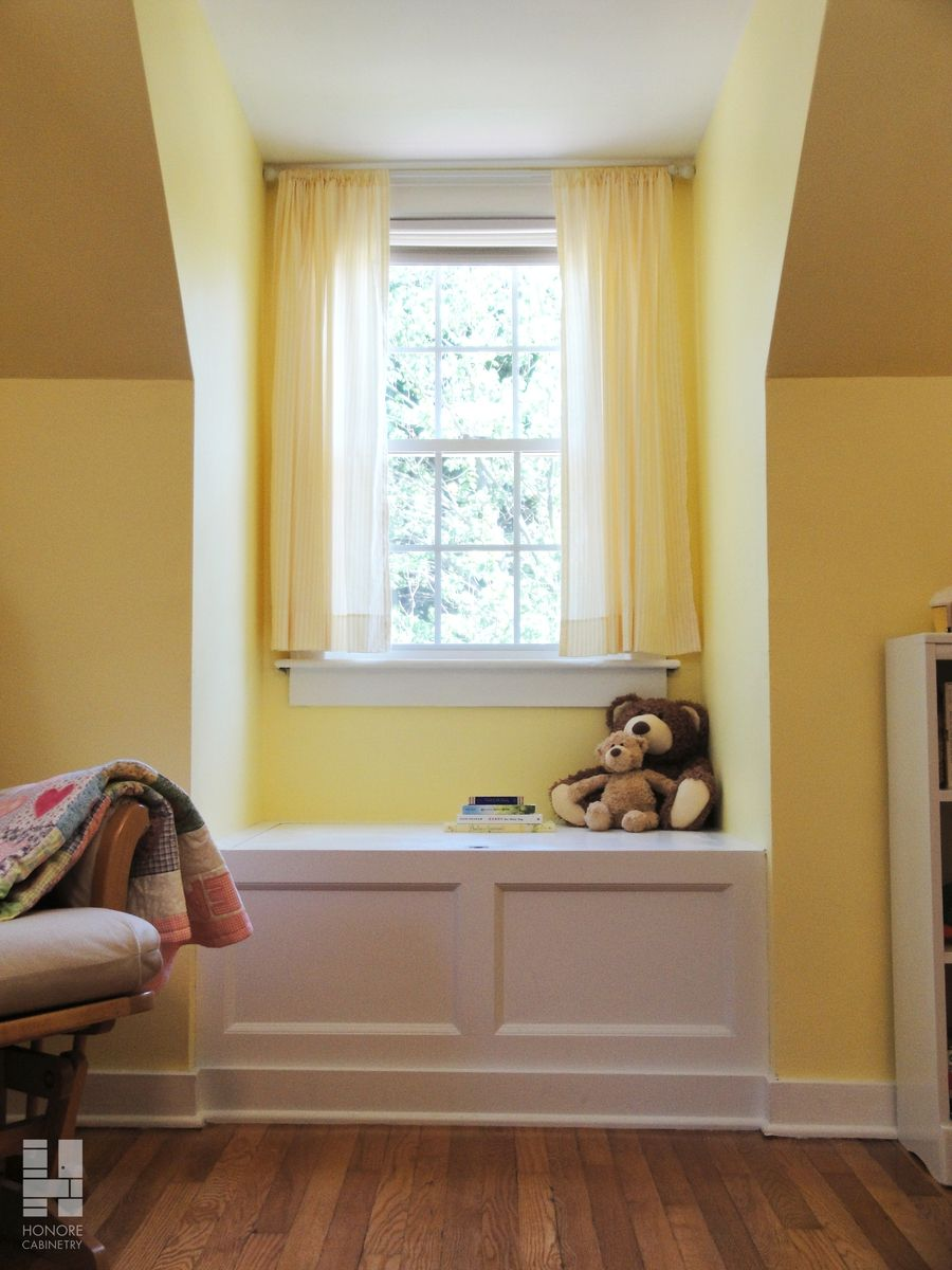 Hand Made Custom Cabinetry : Built-In Window Seat With Storage by ...
