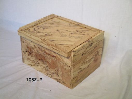 Custom Made Custom Made Spalted Maple Box
