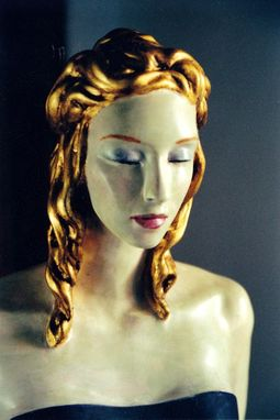 Custom Made Lady. Wood Polychrome