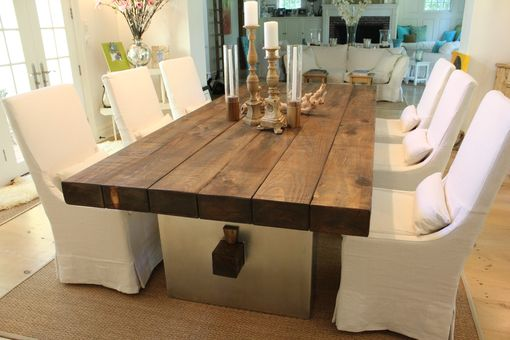 Custom Barn Wood Dining Table By J R Signature Creations