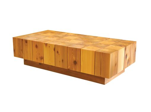 Custom Made Block Table