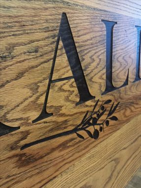 Custom Made Custom Wood Sign For Business